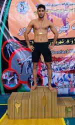 مجید عشقی قهرمان کشور در سال 1398 سبک کنتاکت کاراته
